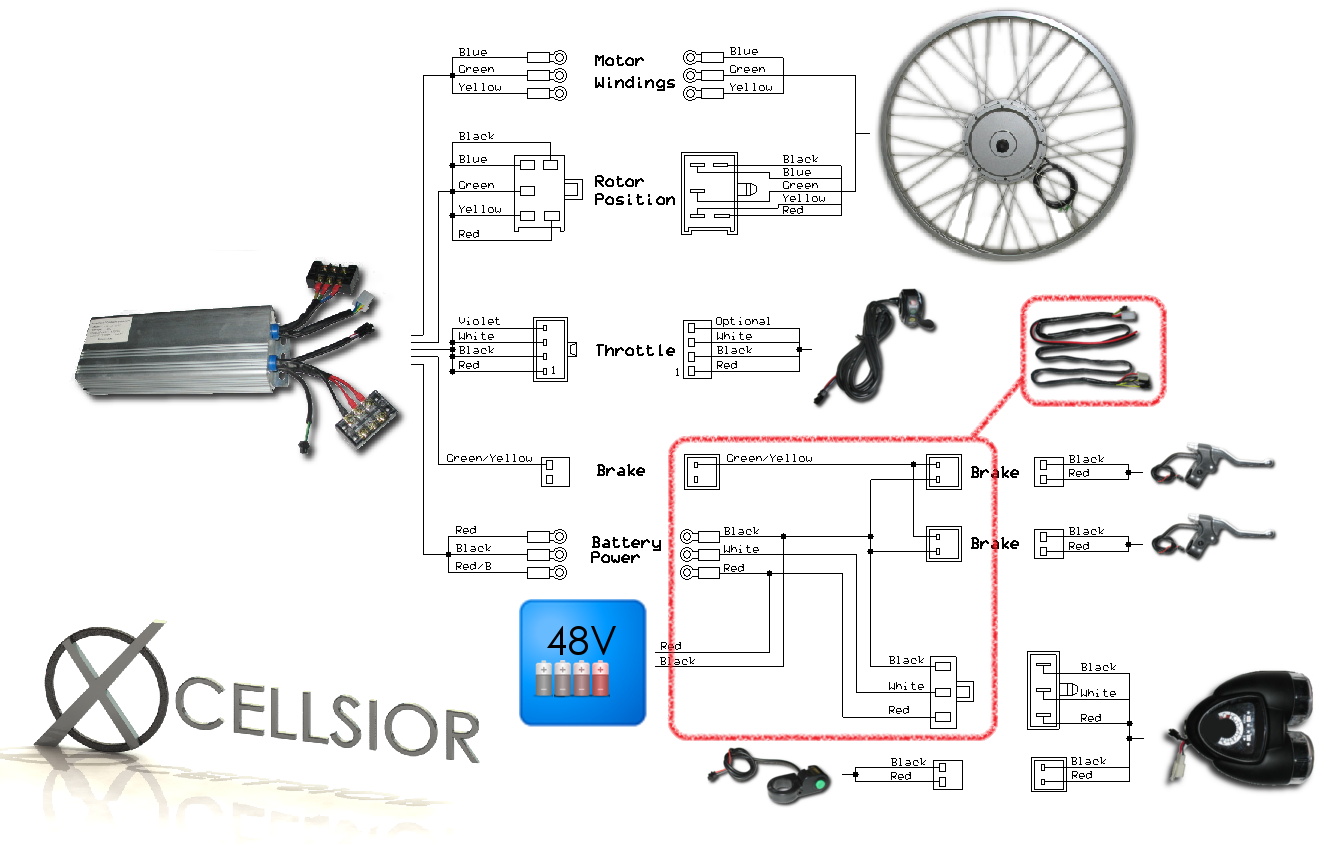 Currie Electric Scooter Wiring Diagram : Volt wiring diagram for currie electric scooter razor